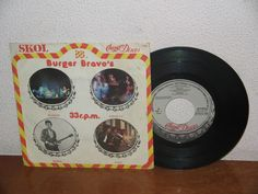 Burger´s Bravo´s  7´´ Promo Extended Play 33 RPM Spain 1979
