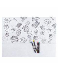Mantel Infantil con Pinturas Candy