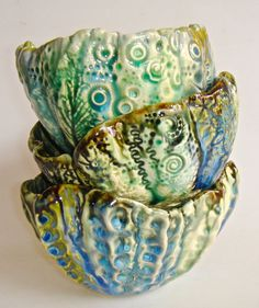 It's the little touches that make a house your home. Ceramic bowl sea inspired bowl organic shape bowl by Clayshapes, $25.00