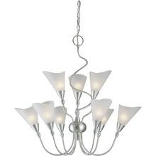 View the Forte Lighting 2127-09 Contemporary / Modern 26Wx27H 9 Light Chandelier at LightingDirect.com.
