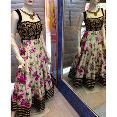 Latest Printed Fashion Designer Suit Fashion Designer Suit, Blue Lehenga, Designer Anarkali, Anarkali Suits, Indian Dresses, Salwar Kameez, Ready To Wear, Floral Prints, Two Piece Skirt Set