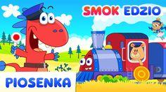 Jedzie pociąg z daleka - Piosenki dla dzieci od Smoka Edzia - HD