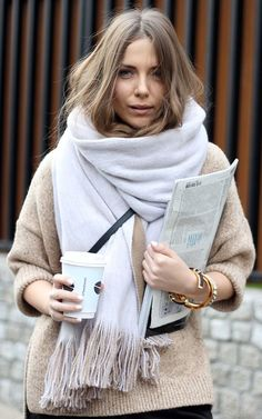 Bundled up. Fashion and Style by Vanja Milicevic