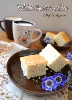 cake made with white beans - gluten-free, dairy-free