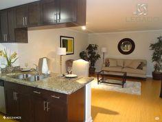 Spacious Kitchens at Legado Encino Apartment in Los Angeles, CA
