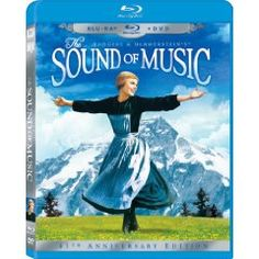 The Sound of Music on Blu-ray and DVD for $9.99 (reg. 34.99$)