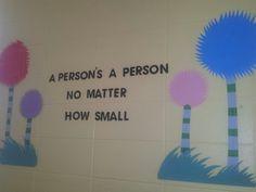 Dr. Seuss classroom decor