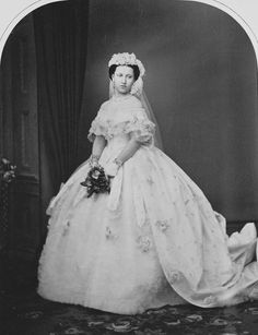 Queen Victoria's third daughter, Princess Helena of the United Kingdom, 1863
