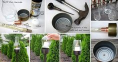 DIY Outdoor Can Lantern