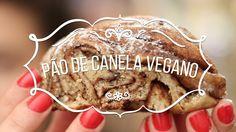 Pão trançado de Canela Vegano