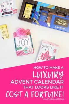 are you ready to learn how to make an advent calendar that looks like you spent a fortune on? This luxury advent calendar is adorable! Diy Craft Projects, Decor Crafts, Home Crafts, Holiday Crafts, Craft Ideas, Decor Ideas, Crafts To Sell, Easy Crafts, Crafts For Kids