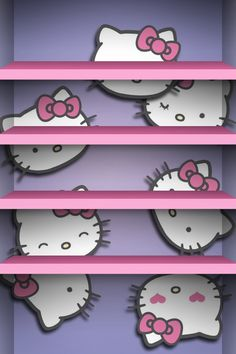 #hk #cute #hellokitty #iphone4 #iphonewallpaper