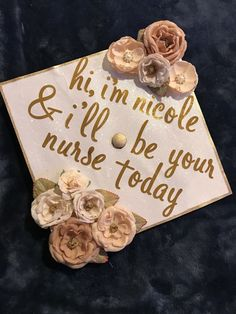 My nursing grad cap? You are in the right place about graduation pics Here we offer you the most beautiful pictures. Nursing Graduation Pictures, Nursing School Graduation, Nursing Pictures, Grad Pics, Nurse Grad Parties, Nursing School Scholarships, Best Nursing Schools, Son Birthday Quotes, Graduation Cap Designs