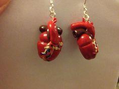 anatomic heart earrings-on ETSY!