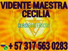 VIDENTE CECILIA PODER Y CUMPLIMIENTO. CONSULTA HOY VIA WHATSAPP +573175630283 Villavicencio - Clasiesotericos Colombia