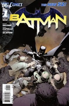 Batman (2011) (57 issues, ends at #52)