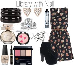 """Library with Niall"" by onedoutfits269 ❤ liked on Polyvore"