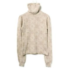 ヴェロニクブランキーノ VERONIQUE BRANQUINHO 美品 064708 A2paisley turtleneck...