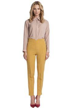 Menot Yellow High Waist Pants
