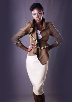 """An Afromantic Daydream"" – Christie Brown – Spring/Summer 2011 Capsule Collection African Fashion Designers, African Inspired Fashion, African Print Fashion, African Prints, African Textiles, African Dresses For Women, African Wear, African Women, African Style"