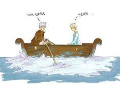 Jack Frost & Queen Elsa