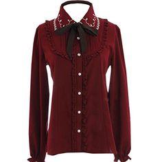 Partiss Women's Embroidery Lace Collar Bowknot Classic Sw... https://www.amazon.com/dp/B01LY55ZGI/ref=cm_sw_r_pi_dp_x_l6pPybPPSKSCK