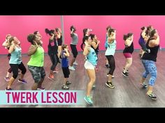 DJ Battle ft. Lexy Panterra - Twerk Lesson (Dance Fitness with Jessica) - YouTube