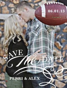 Our save the date!