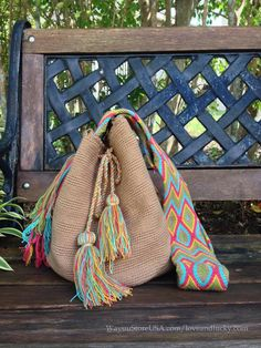 Wayuu Bags Wayuu Mochila Bags. 2014 Hot Trend in by loveandlucky, $75.00