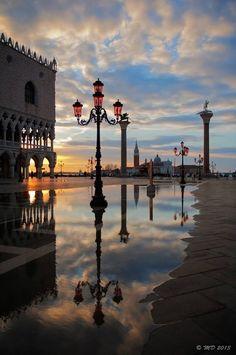 ATARDECER EN VENECIA - Italy Art & Architecture
