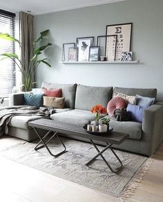 Attractive Living Room Wall Decor Ideas To Copy Asap New Living Room, Home And Living, Living Room Decor, Indian Home Decor, Living Room Inspiration, Room Colors, Living Room Designs, Home Furniture, Furniture Design