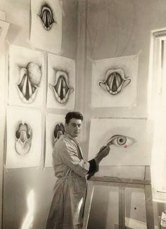 1939 OCCUPATIONAL PORTRAIT, MEDICAL ILLUSTRATION