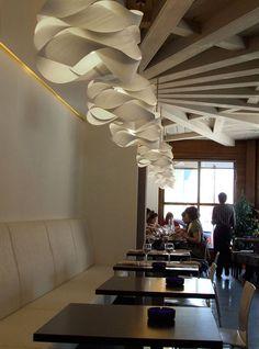 Graceful Wood Veneer Link-S Lamps For Fancy Spaces