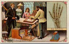 Röntgen, Edison, et al: Early days of x-ray revisited:  cryptoscope from 1900