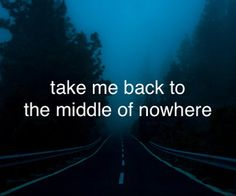 back to the place only you & i share