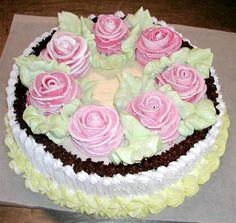 Украсить торт кремом своими руками