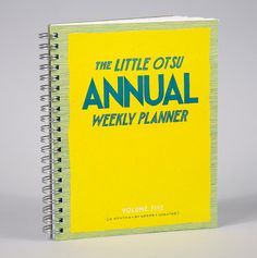 the annual weekly planner - little otsu