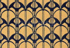 Charles Rennie Mackintosh book design (An original highly-stylized repeating Art Nouveau design for a book binding, by leading Glasgow...)