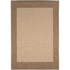 Found it at Wayfair - Recife Checkered Field Natural Cocoa Indoor/Outdoor Area Rug http://www.wayfair.com/daily-sales/p/Cozy-Furniture-for-Evenings-Under-the-Stars-Recife-Checkered-Field-Natural-Cocoa-Indoor%2FOutdoor-Area-Rug~CU1207~E21436.html?refid=SBP.rBAjD1PdH8WeaFgnxHNRAs28tYgY5ECSnf6KakKlM70