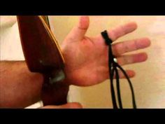 How to Make a Shoelace Finger Sling (Video Tutorial)    In this video we will teach you how to make a Shoelace Finger Sling for use in Archery applications.