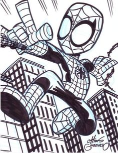Spider-Man by Chris Giarrusso