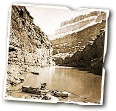 John Wesley Powell: Exploring the Grand Canyon   #History #GrandCanyon     http://www.uhaul.com/SuperGraphics/60/10/Enhanced/Venture-Across-America-and-Canada-Modern/Wyoming/Go-Time-at-Green-River-City