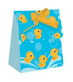 Rubber Ducky Mini Favour Bags (set of 12) how cute are these for a baby shower!!