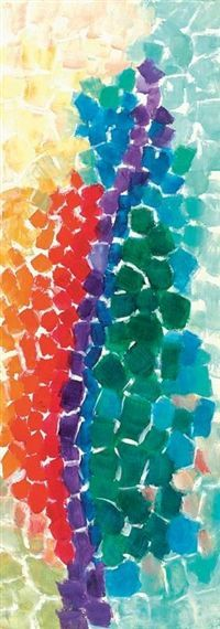Image result for First grade paintings inspired by Alma Woodsey Thomas, Teacher: Lisa Amer Woods by kaitlin