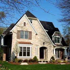 Brick Stone Combination Design Ideas Pictures Remodel And Decor Bungalow Homes Cottage