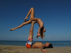 Couples Yoga on the beaches of Cape Cod...free falling.  Do you think Bill and Jason would do this?  I'm cracking up!