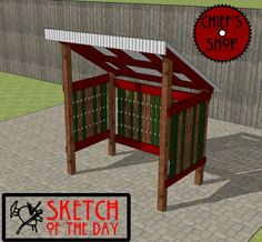 Sketch of the Day: Grill Shed