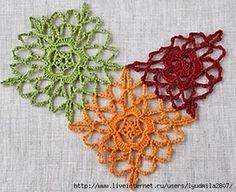 mis pasatiempos amo el crochet¡¡¡¡:): Uniendo los motivos del diseño para ver esquemas dar clic -Es de la Web