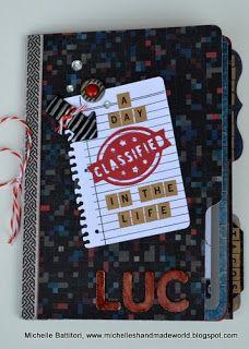 Michelle's Handmade World: Artbooking Birthday Mini-Album