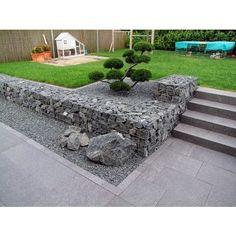 Gabion 100x30x20cm - mailles carrées 10x10cm - 1947 - Jardin piscine